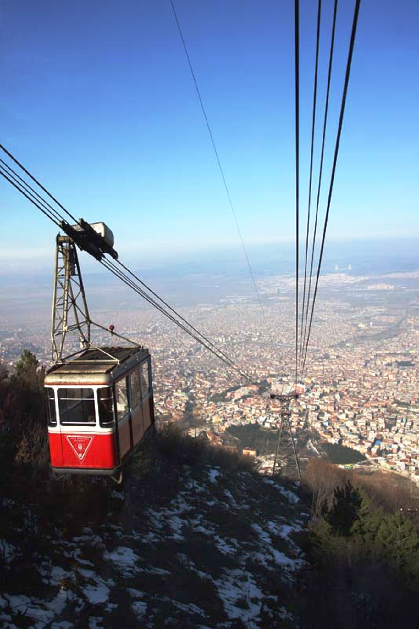 how to get to bursa teleferik
