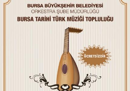 Bursa'da özel bir konser