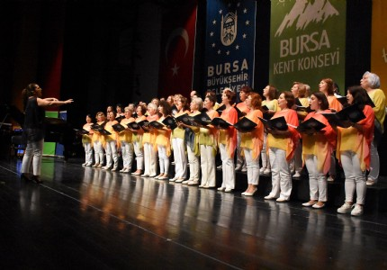 BURSA KENT KONSEYİ'NDEN BAHAR KONSERİ