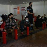 Büyükşehir personeline afet eğitimi