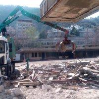 Çekirge Teras yıkımlarla şekilleniyor
