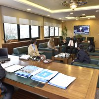 Koreli stajyerler BUSKİ'de
