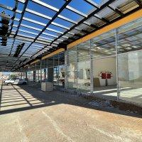 Kültür merkezinde dükkanlar meydana çıktı