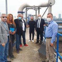 Bulgaristan'dan gelen iş heyetinden BUSKİ'ye ziyaret
