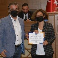Büyükşehir'de 'Ayın personelleri' ödüllendirildi