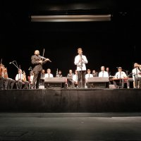 Orkestrada mezuniyet sevinci